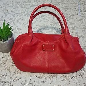 Kate Spade Satchel Red Medium Size
